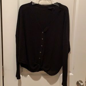 Urban Outfitters Jojo Oversized Button Thermal